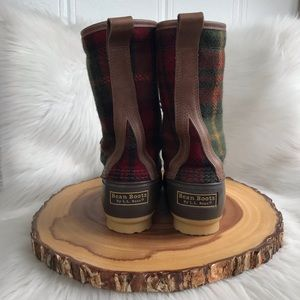 L.L. Bean Shoes - L. L. Bean wool / leather boots USA made